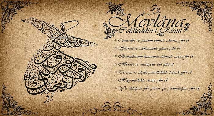 Mevlana Celaleddin-i Rumi'nin Eserleri