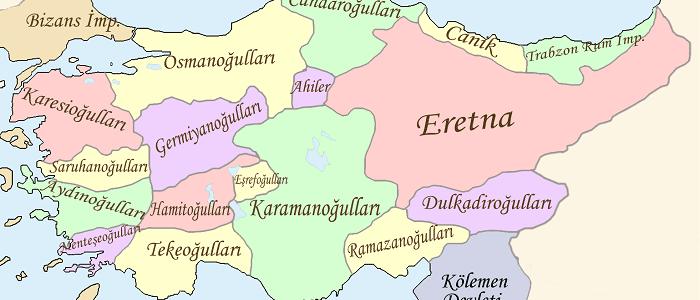 Anadolu'da Kurulan İlk Türk Beylikleri