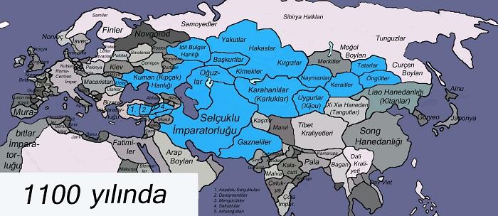 Büyük Selçuklu Devleti ( 1037 - 1157)