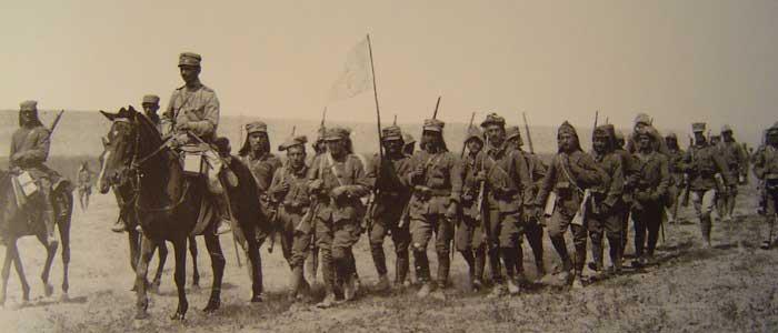 Türk Ordusunun Muharebe'ye Hazırlanışı