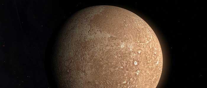 Merkür Gezegeninin Fiziksel Özellikleri