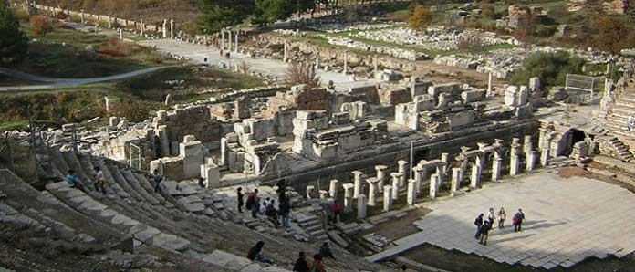 Efes Antik Kenti Hakkında Bilgiler Nerededir Mimarisi Ve Tarihçesi