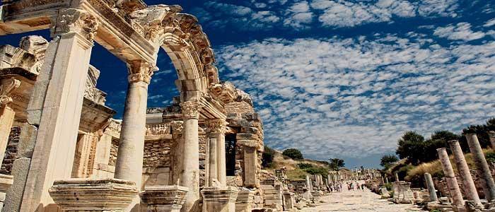 Efes Antik Kenti'nin Mimarisi