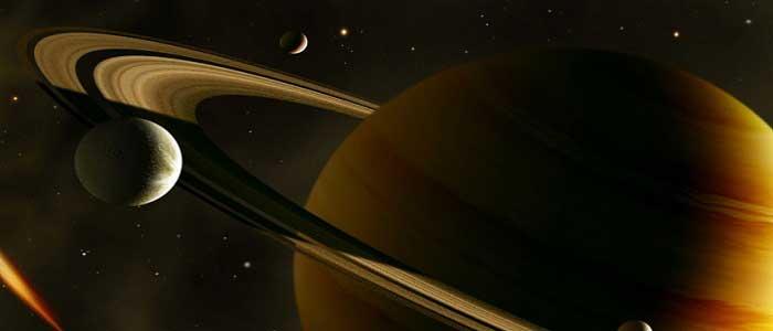 Satürn Gezegeninin Uyduları Nelerdir?