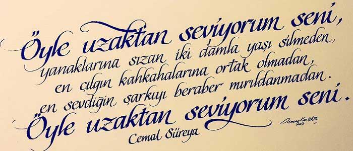 Türk Edebiyatında Şiirin Yeri