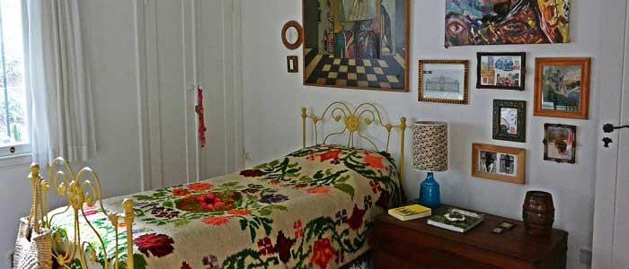 Bohem Tarzı Dekore Edilmiş Yatak Odası