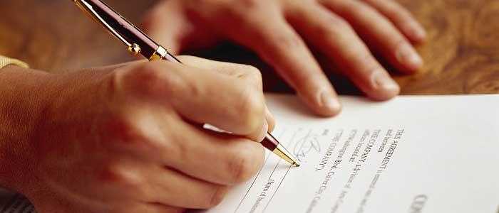 Hesap Açılış Sözleşmesinin İmzalanması