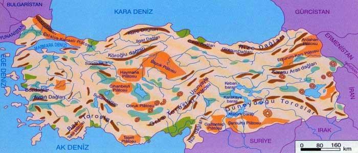 Türkiye'nin Platoları Nelerdir?