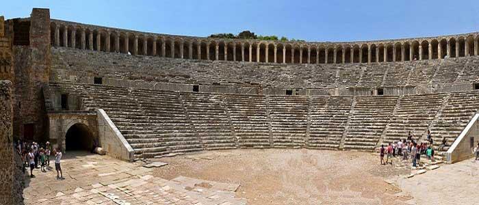Aspendos Antik Kenti Nerededir