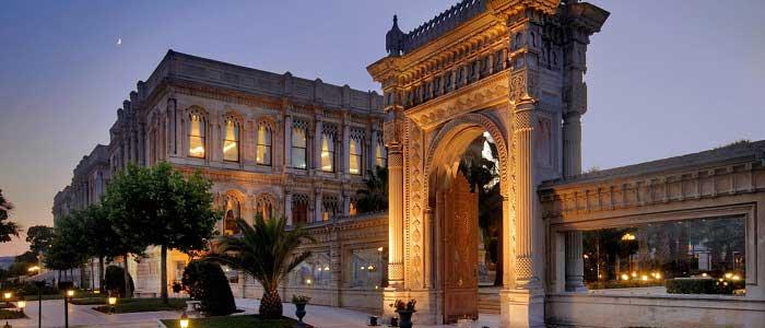 Çırağan Sarayı'nın Mimarisi