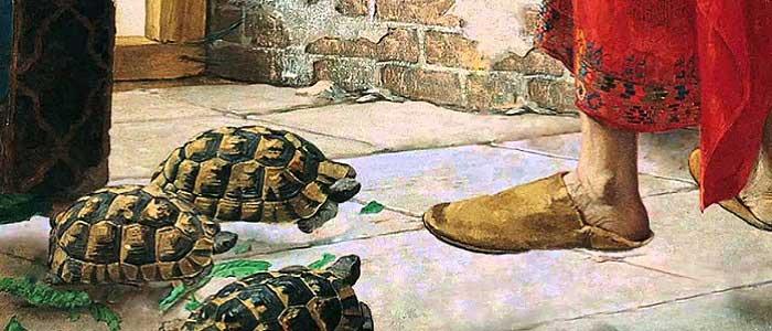 Kaplumbağa Terbiyecisi Tablosu'nun İlham Kaynağı Nedir?