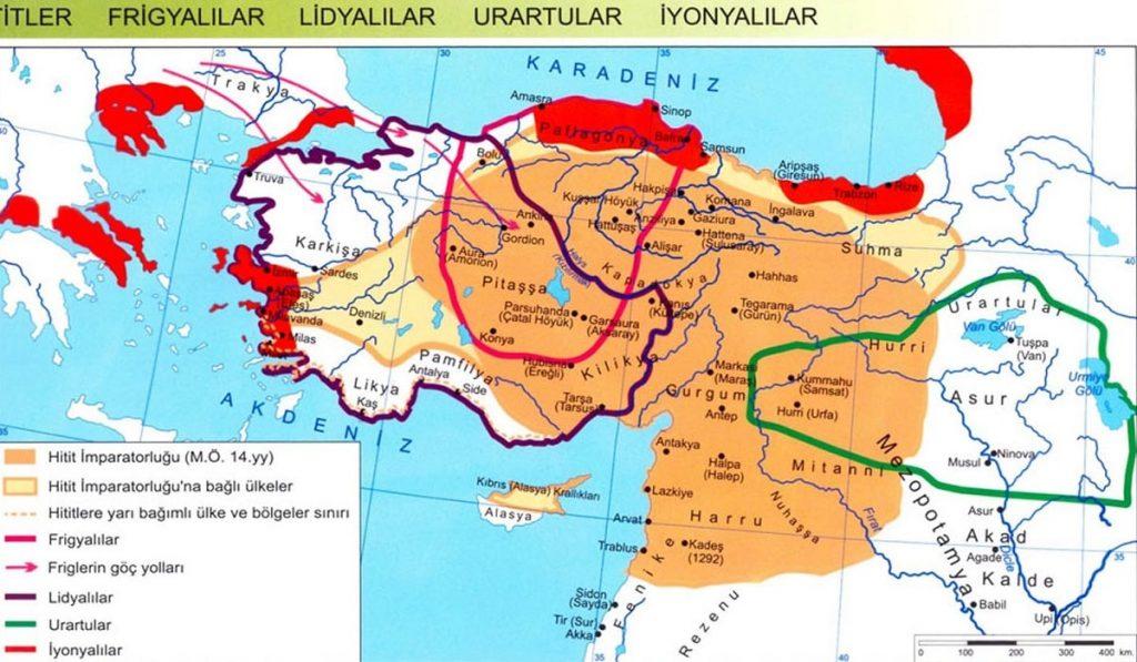 Anadolu'da Kurulan Medeniyetler (Uygarlıklar)