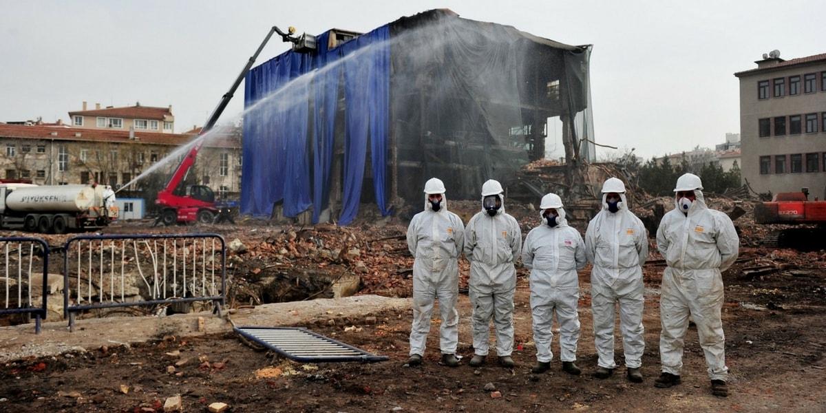 Asbest Nerelerde Çıkarılır?