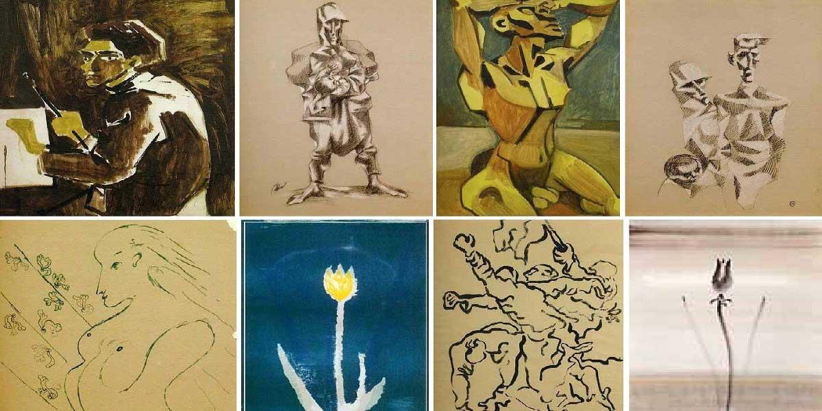 Abidin Dino'nun Eserleri