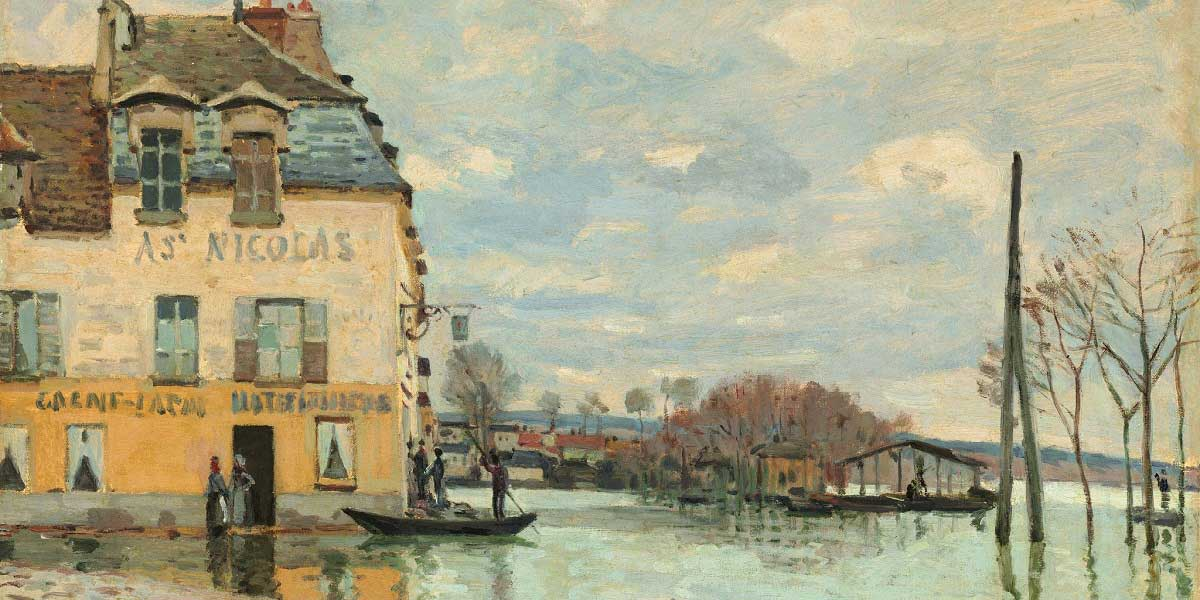 Alfred Sisley Eserleri