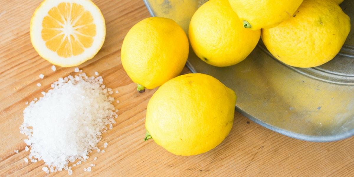 Limon Tuzu Nasıl Elde Edilir?