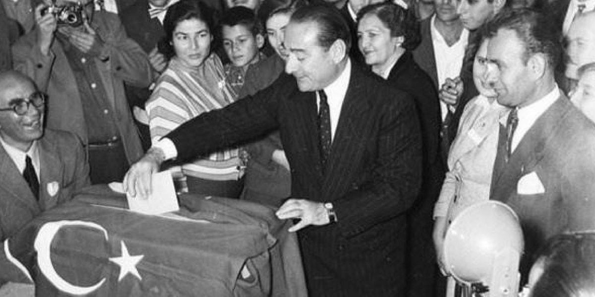 Adnan Menderes ve Serbest Cumhuriyet Fırkası