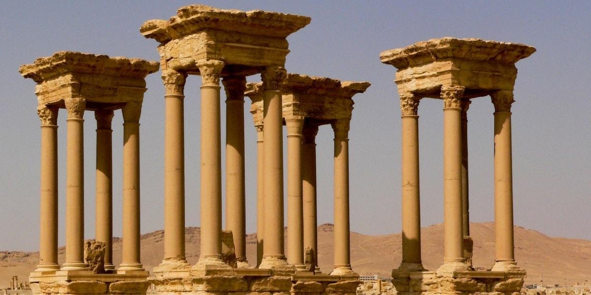 Palmira Antik Kent Mimarisi
