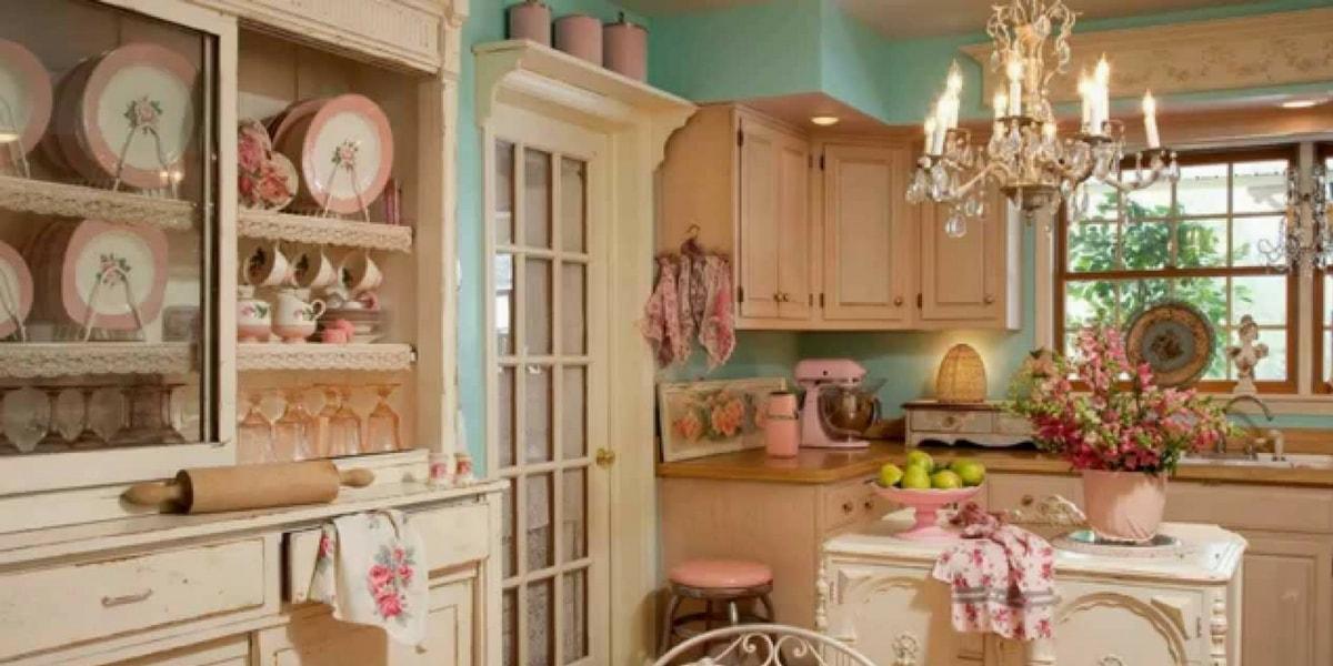 Vintage Tarzı Mutfak