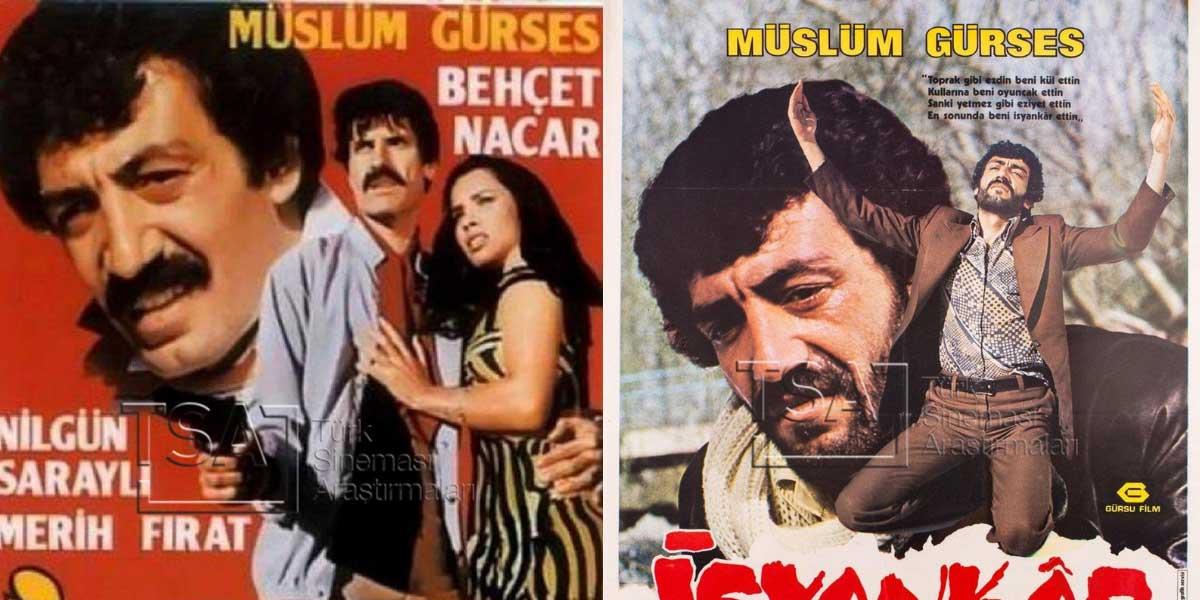Müslüm Gürses'in Filmleri